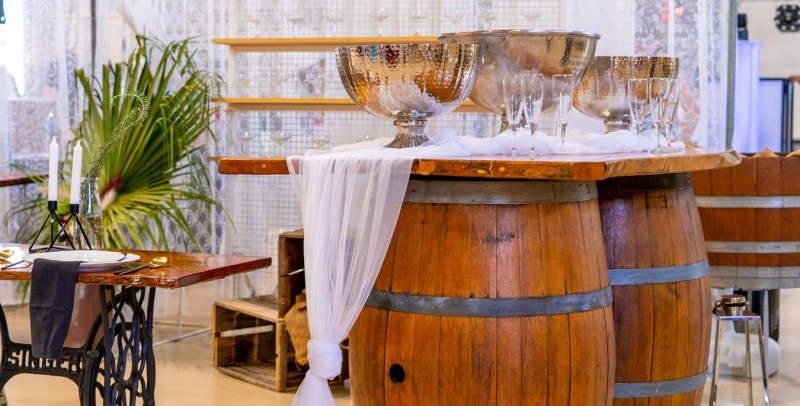 de leukste oplossingen voor hergebruikte wijnvaten
